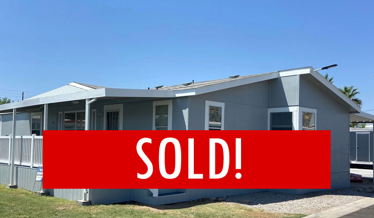 SPACE G-4 – SOLD! – 3 BED, 2 BATH