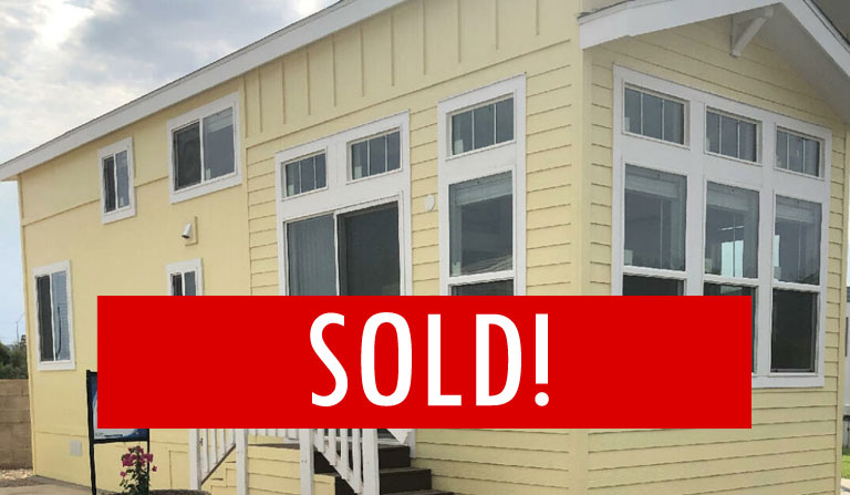 Space H-2 – SOLD – 1 Bed, 1 Bath – Brand New Home Close To The Water